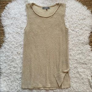 MARLED Knit Sweater Tank Medium